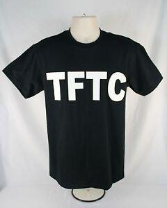 Black-Geocaching-T-Shirt-TFTC-White-Letters-Geocache-Shirt-M-2XL-3XL-GPS-Caching