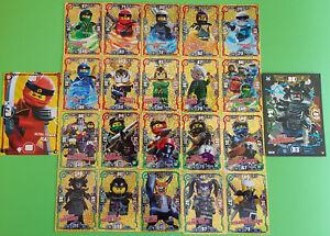 Lego-Ninjago-Serie-3-Trading-Card-Limitierte-Karten-zum-aussuchen-LE1-LE24