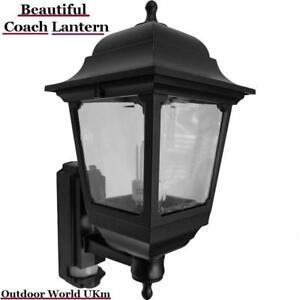 Coach Lantern Light Lamp Night Wall