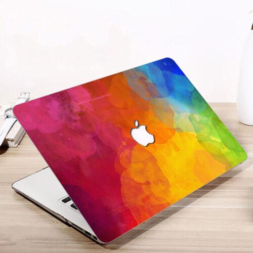 "Design Laptop Hard Case Keyboard Screen Film Macbook Air 13 Pro 13//15/"" 2016-2019"