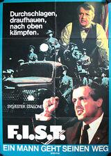F.I.S.T. Ein Mann geht seinen Weg Filmposter A1 Sylvester Stallone, Rod Steiger