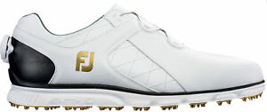 FootJoy-Pro-SL-BOA-Golf-Shoes-53596-White-Black-Men-039-s-New-Choose-Size