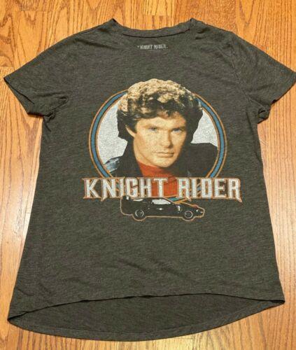 Knight Rider David Hasselhoff Kitt Womens T-Shirt
