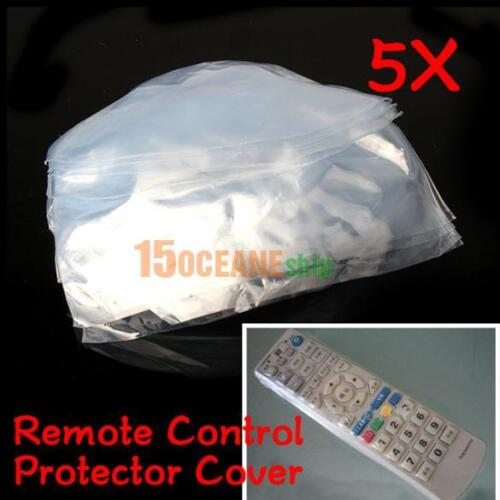 5X Heat Shrink Film TV Air-Conditioner Video Remote Control Protector Cover