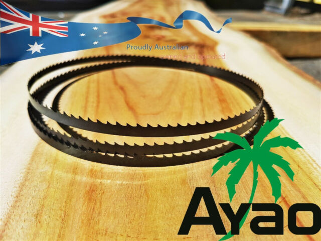AYAO WOOD BAND SAW BANDSAW BLADE  2x 2375mm x 9.5mm x 14TPI Premium Quality