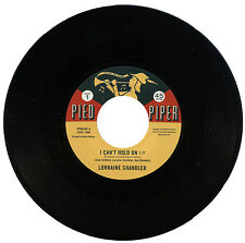"""LORRAINE CHANDLER  """"I CAN'T HOLD ON""""    CLASSIC NORTHERN SOUL   LISTEN!"""