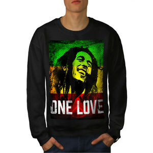 Marley Men Felpa Love Rasta One Pot New Black WBAqT6naZA