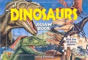 Dinosaurs Jigsaw Book (With Five 48-Piece Jigsaws)