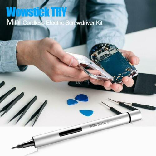 Mini Wiederaufladbar Electric Screwdriver Schraubenzieher Werkzeug Wowstick 1F