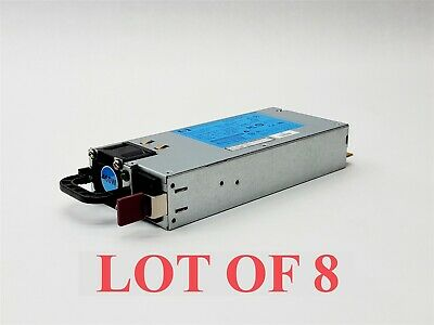 Lot of 2 HP HSTNS-PD14 DPS-460EB 460W Server Power Supply 499250-101 499249-001