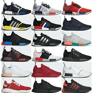 adidas-NMD-R1-Men-039-s-Shoes-Comfy-Lifestyle-Running-Sneakers