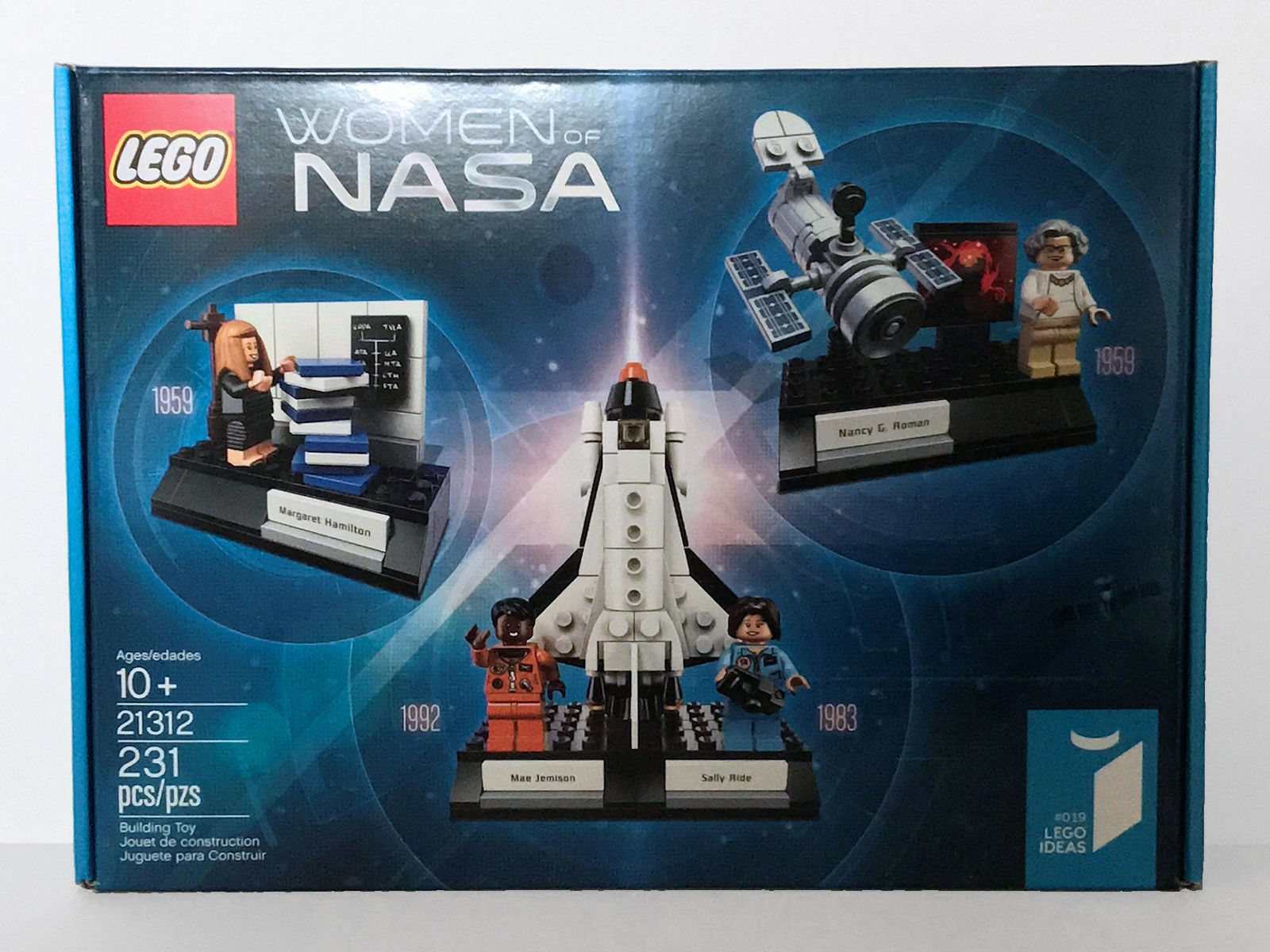 LEGO Ideas Women of NASA 21312 231 Pieces New