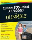Canon Eos Rebel Xs/1000D for Dummies® by Julie Adair King (2008, Paperback)