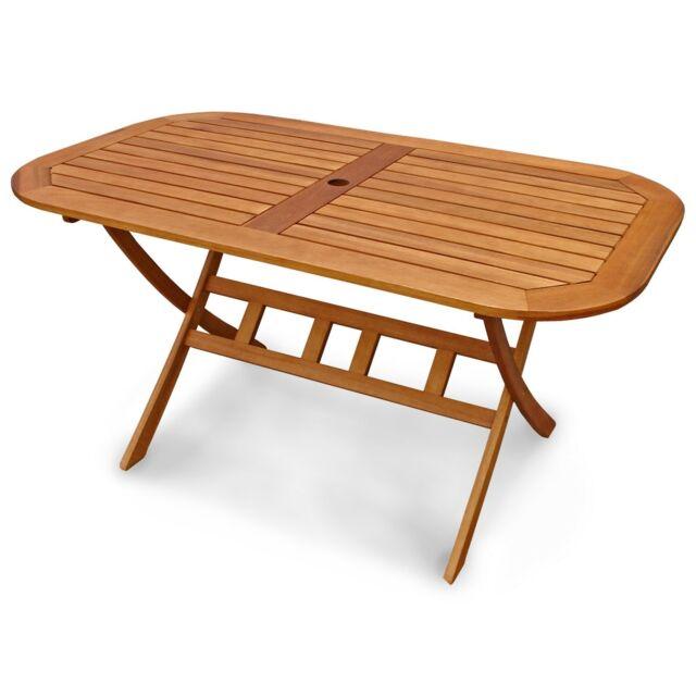 Balkontisch Gartentisch Terassentisch Gartenmobel Klappbar Oval Holz Wie Teak