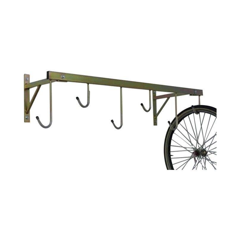 Porta biciclette a parete da 6 posti smontabile ART 3006