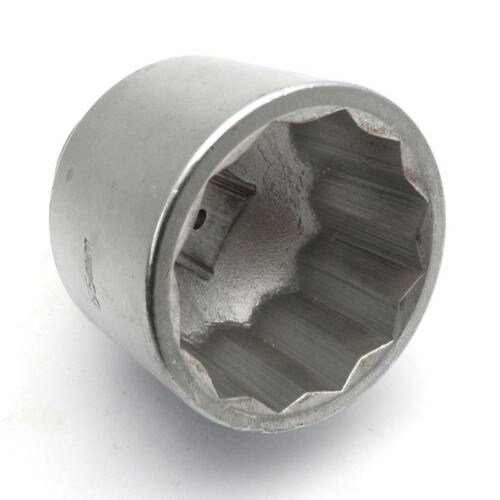 "50mm Jumbo Socket for Wrench 3//4/"" Drive  Metric MM Twelve 12 Point Nut"