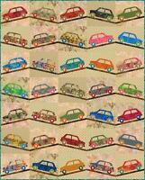 Sweet Ride Car Laundry Basket Applique Lap Quilt Pattern