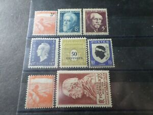 FRANCE-LOT-065-timbres-ANNEES-039-40-neufs-LUXE-VF-MNH-STAMPS