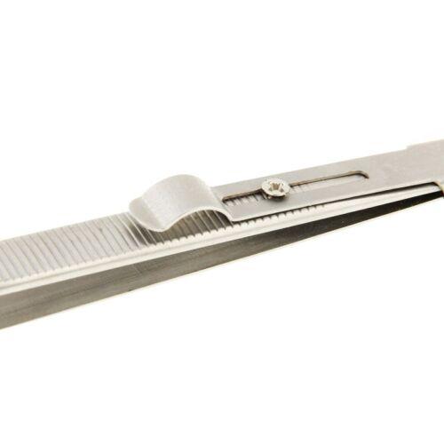 Uhrmacher Pinzette mit Schieberextra feine SpitzenPinzette Antimagnetisch