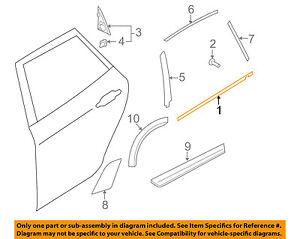 Genuine GM Belt Weather-Strip 22774086