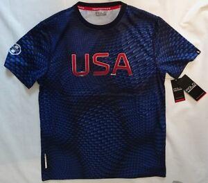 £ Détails Neuf Ralph Sport Shirt Le Titre T Lauren 75 D'origine Sur Rrp Usa Thermovent Polo Afficher Performance OPXiukTZ