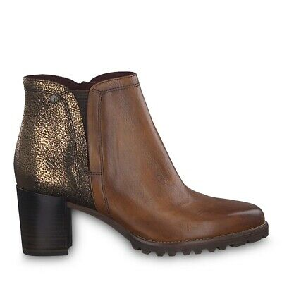 Tamaris 1 1 25081 23 332 Schuhe Damen Leder Antishokk Stiefeletten maroon braun | eBay