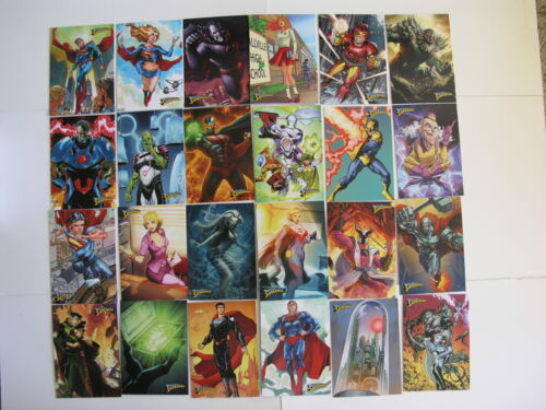 Superman Cryptozoic 2013 Set of 62 Cards includes Checklist Card