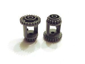 Lego Technic  Differential old dark gray alt dunkel grau 24//16 Zähne 6573