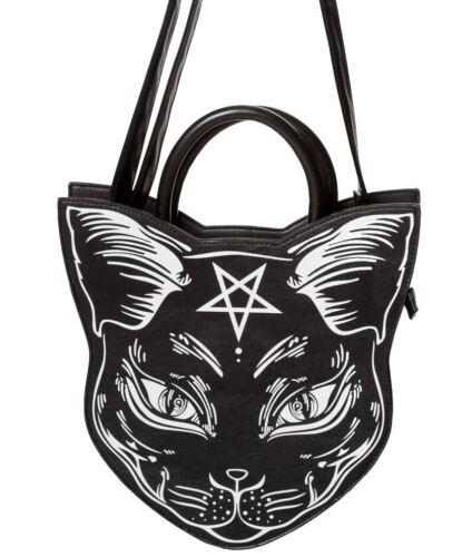 Gothique Habillement Halloween Chaton Banned Pentagramme Vintage Némésis 4qxgwU