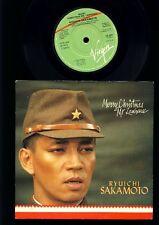 David Bowie - Ryuichi Sakamoto - Merry Christmas Mr. Lawrence -7 Inch Vinyl - UK