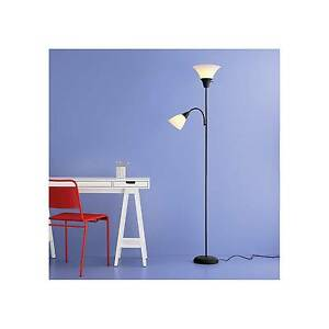 New torchiere floor lamp task light room essentials no tax low image is loading new torchiere floor lamp task light room essentials aloadofball Images