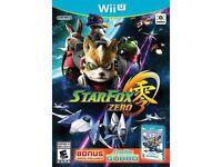 Starfox Zero - Nintendo Wii U on sale