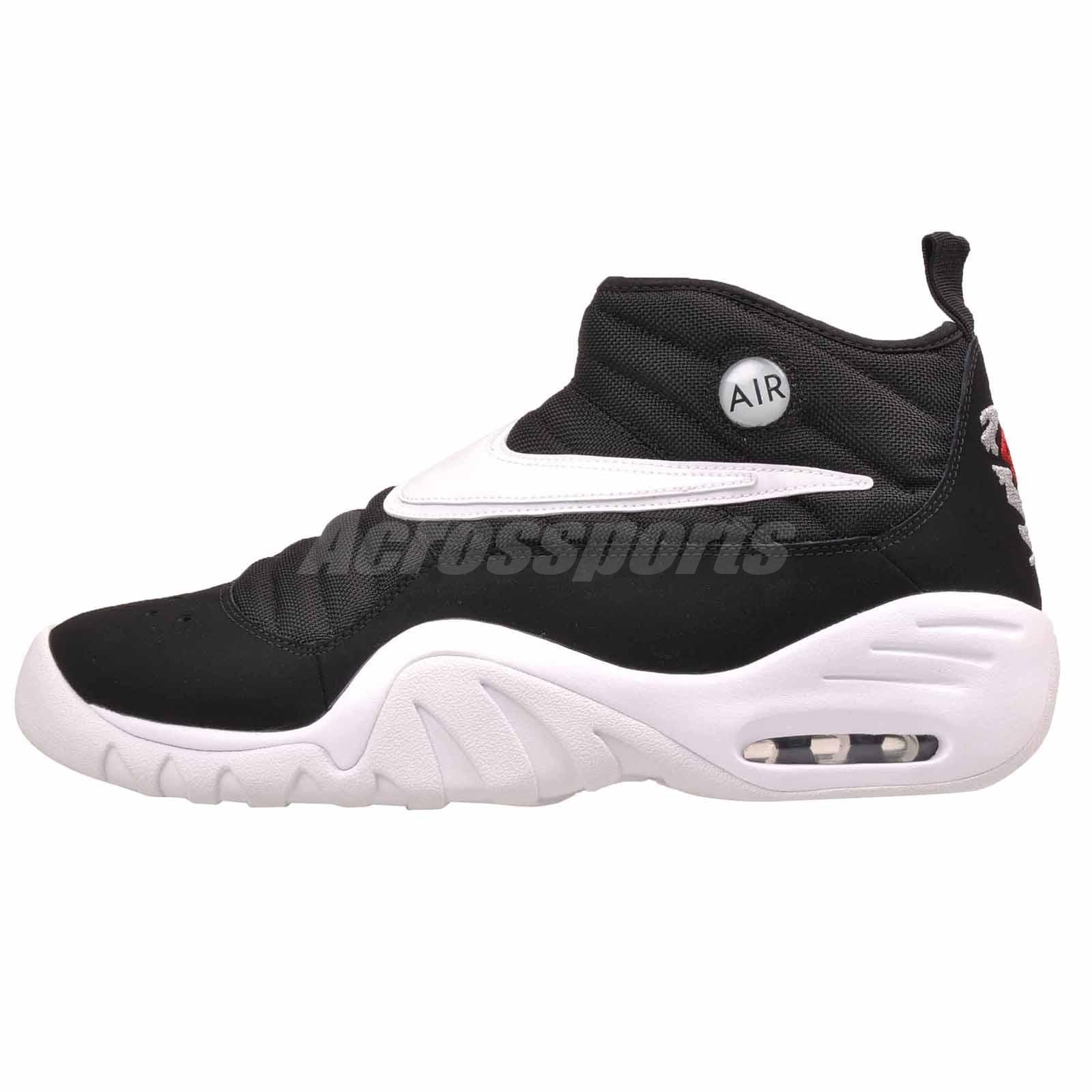 Nike Air Shake Ndestrukt Basketball Mens shoes Black White 880869-002