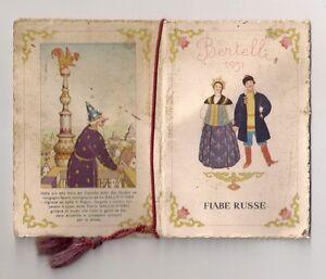 Calendarietto Bertelli 1931 FIABE RUSSE - Italia - Calendarietto Bertelli 1931 FIABE RUSSE - Italia