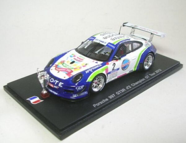 Porsche 997 GT3 R no. 2 Champion GT Tour 2012