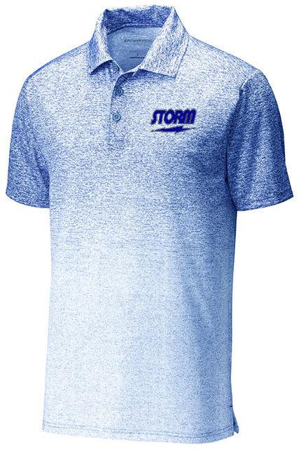 buy popular 9c701 dfee6 Storm Mens Deuce Ombre Heather Performance Polo Bowling Shirt White True  Royal. Capezio DS02 collo Basso con Suola Separata shoes ...
