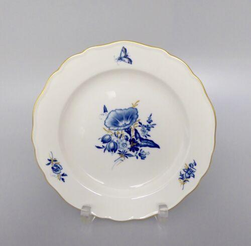 Meissen Neuer Ausschnitt blaue Blume Kuchenteller ø 18cm D