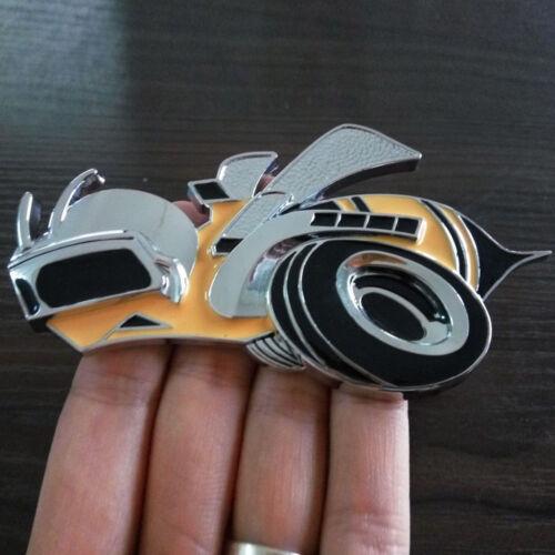 Super Bee Metal Hemi SRT Scat Pack Challenger Charger Grille Emblem Badge Decor