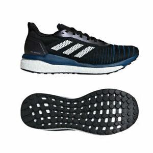 Solletico Patetico non chiaro  Adidas Solar Drive [D97442] Men Running Shoes Black/White-Navy 11.5   eBay