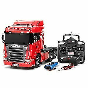Tamiya 1 14  Electric RC Assembly Kit Scania R620 6 × 4 High Line Full Operation  centro commerciale di moda