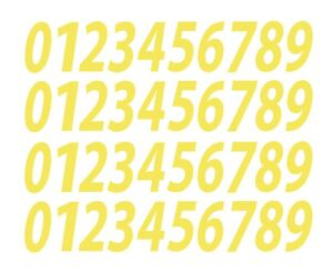"""0-9 Numbers Silver Sticker Vinyl Decals CHOOSE SIZE!! 1//2/"""" - 12/"""" Set Of 40 V546"""