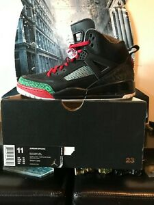 Nike-Air-Jordan-Spizike-OG-Men-s-Size-11-Black-Green-Red-315371026