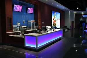 Details About Reception Desk Led Accent Lighting Kit Color Select All Colors Fast Ship