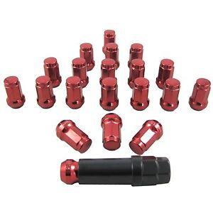 20pcs-Red-M12X1-5-32-5mm-Steel-Locking-Heptagon-Wheel-Rim-Lug-Nuts-Kit