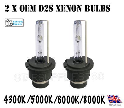 /& M3 D2S 35W HID Xenon Replacement Bulbs 4300K BMW 3 Series E46 2001