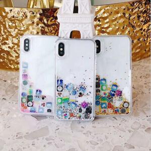 Dynamic-Glitter-Quicksand-soft-phone-case-For-iPhone-8-7-6-Plus-XS-Creative-BWU