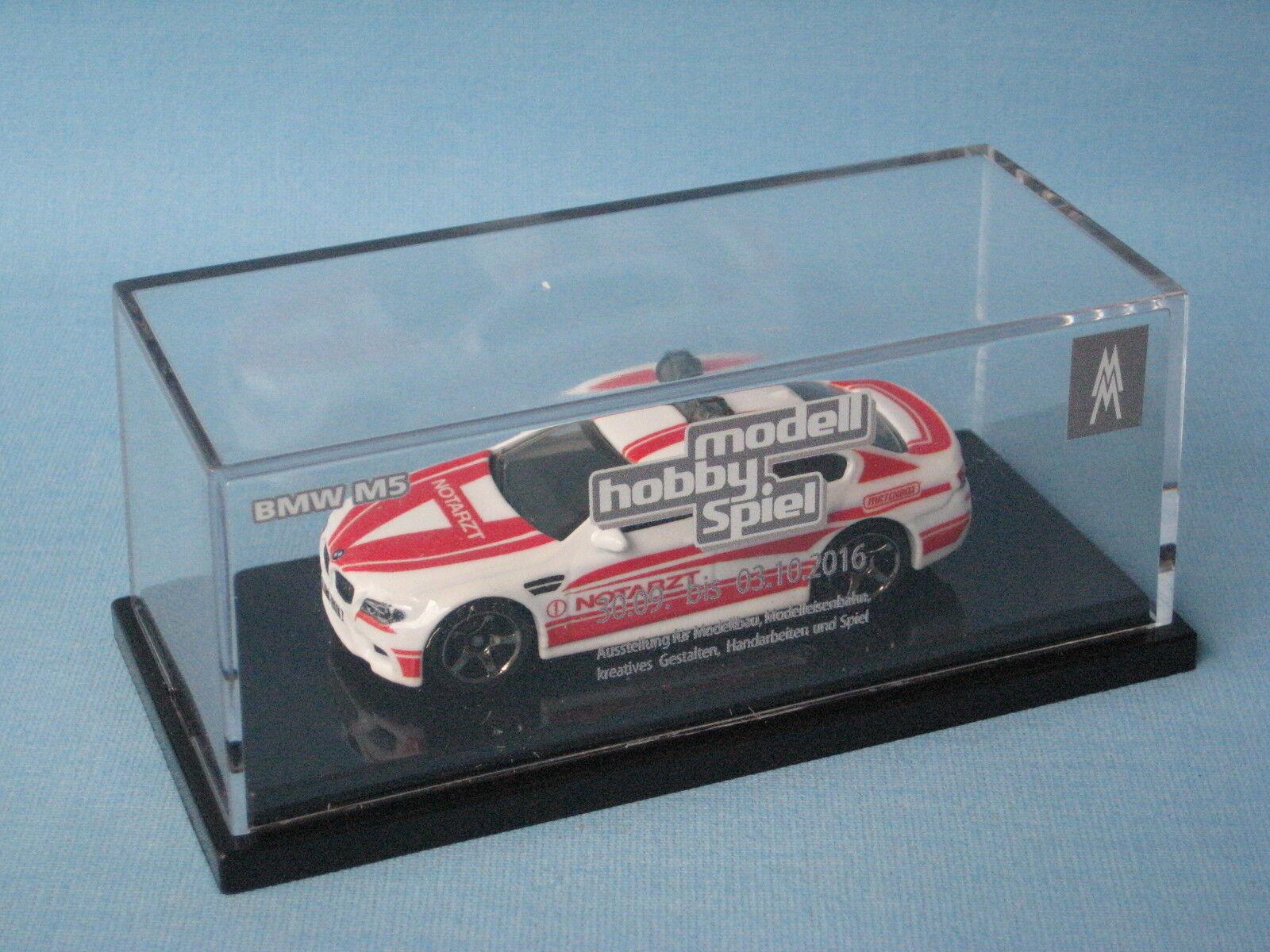 Matchbox bmw série 5 NOTARZT médecin leipzig rare edition jouet voiture modèle rare