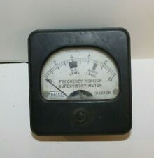 Vintage Gatesweston Supervisory Meter For Gates Mo 2890 Am Frequency Monitor