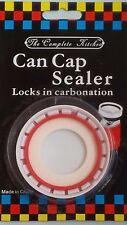 Beverage Can Resealer, White by DOZENEGG (B000V7T1IY) Locks in full carbonation