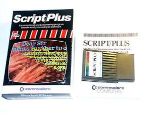 lt-Script-Plus-fuer-C16-116-Plus-4-gt-Commodore-Modul-Cartridge-boxed-SCRIBO